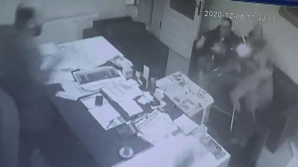 İki kişinin öldüğü kavganın dehşet anları güvenlik kamerasında