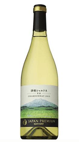 サントリー ジャパンプレミアム 津軽 シャルドネ 2015