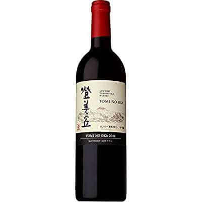 日本ワイン サントリー 登美の丘ワイナリー 登美の丘 赤 2016