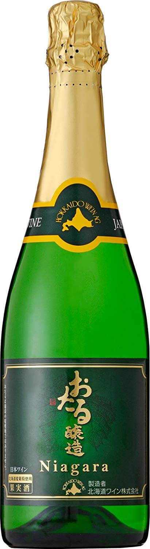 北海道ワイン おたる ナイヤガラスパークリング