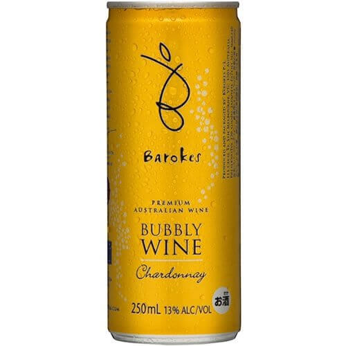 バロークス スパークリング缶ワイン プレミアム・バブリー・シャルドネ
