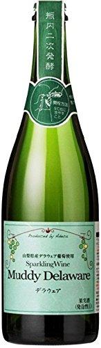 フジッコワイナリー スパークリングワイン マディ デラウェア