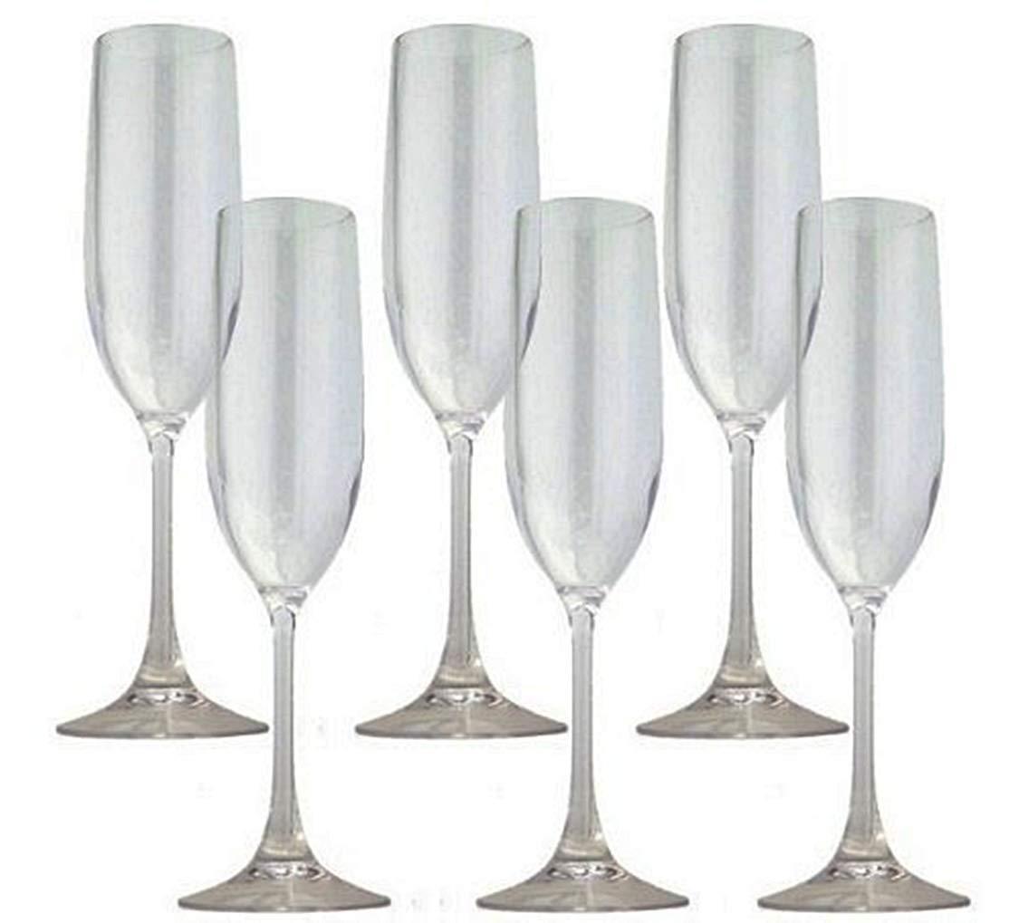TRITAN (トライタン) シャンパーニュ 合成樹脂グラス 6脚セット