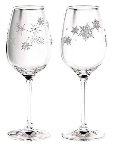 NARUMI(ナルミ) グラスワークス スノー&スター ワイングラスペア