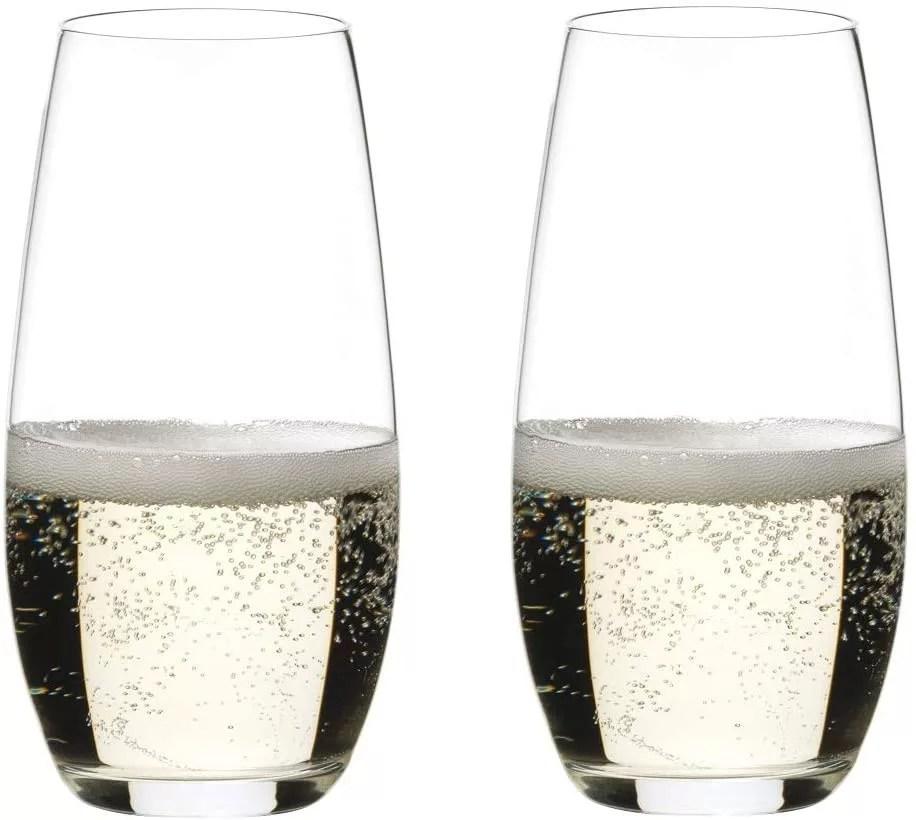 リーデル ステムレスグラス