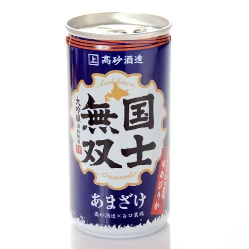 高砂酒造 大吟醸酒粕甘酒 国士無双 190g×10缶