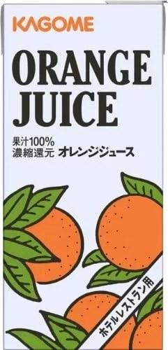 カゴメ オレンジジュース ホテルレストラン用