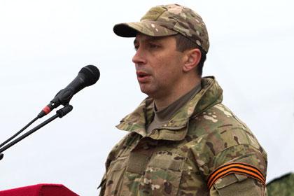 Bugrov, l'ex ministro della difesa di LPR.