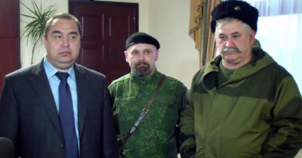 Plotnitsky, Mozgovoj e Kozitsyn.