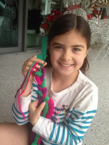 Learning to yarn bomb!