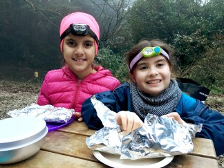 Campfire Dinner with Troop 21