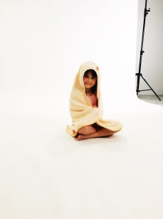 Modeling for a towel company