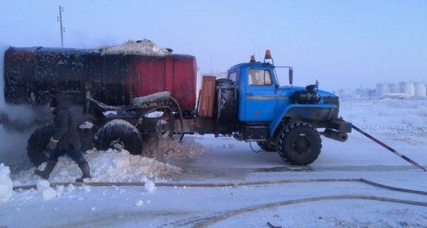 В Анабарском районе погиб водитель автоцистерны
