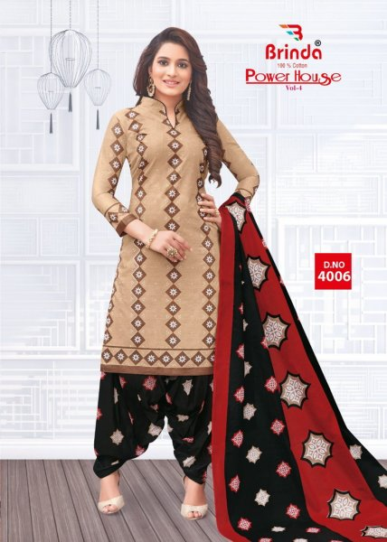 Power House vol 4 Cotton Print Salwar suits wholesaler