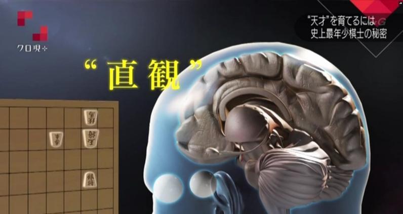 詰将棋の膨大な時間により脳の直感が鍛えられた