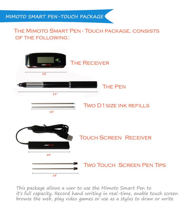 Mimoto Smart Pen 12
