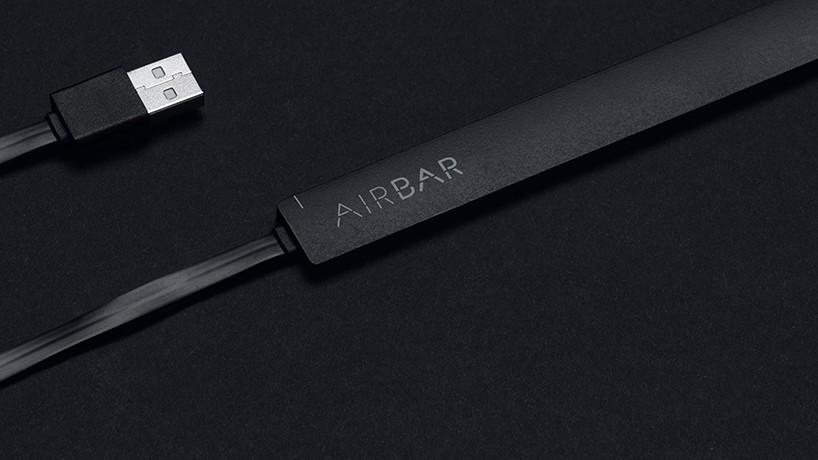 これは画期的!どんなノートPCもタッチパネルに早変わりさせる「AirBar」