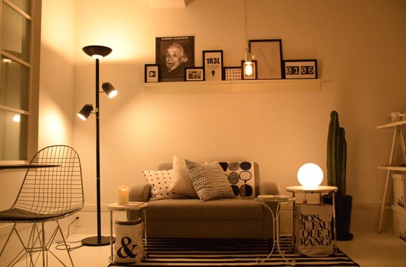 一人暮らしにおすすめしたい間接照明。インテリアをおしゃれにするコツ
