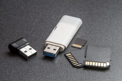 Flash drive memories