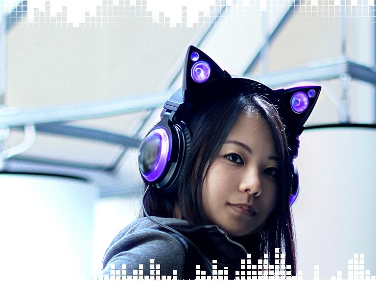 スピーカー搭載!ネコ耳タイプのスピーカー「AxentWear」がアツい!