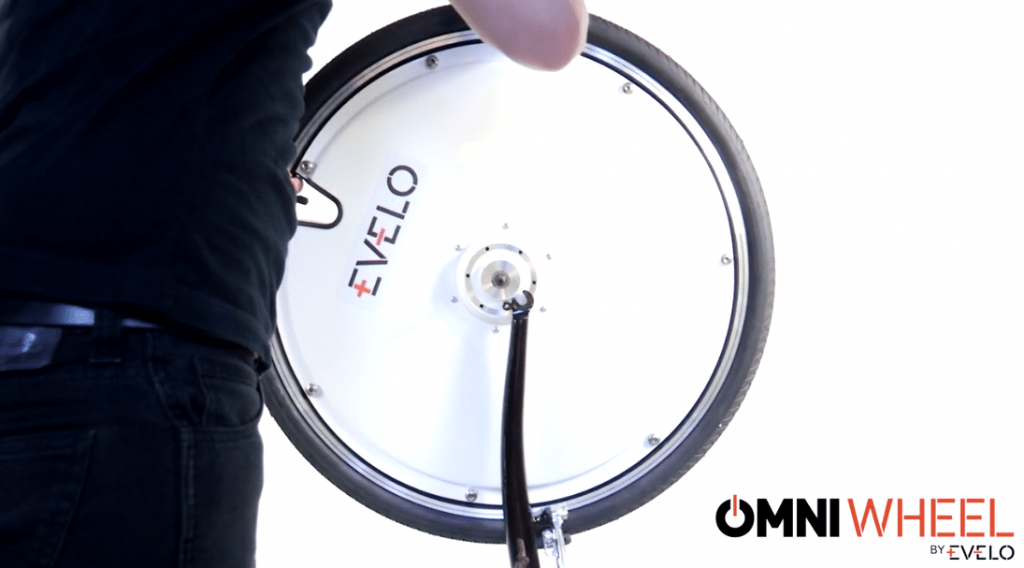2Omni Wheel by EVELO Electric Bicycle Company