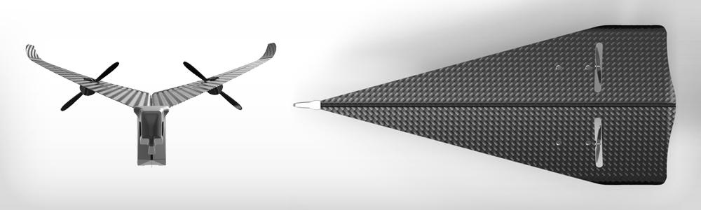 紙ヒコーキ感覚のラジコン!スマホで操作可能な「Carbon Flyer」