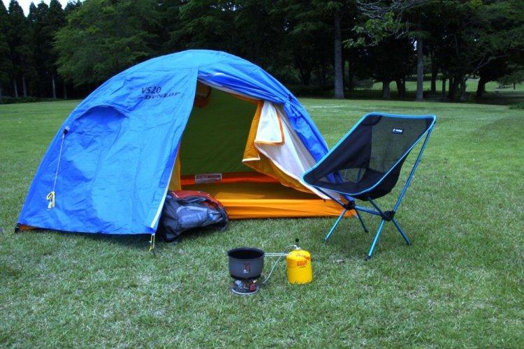 二人用テントのイメージ