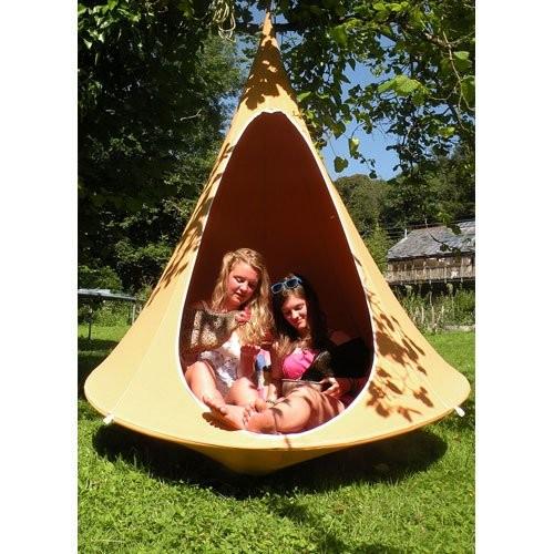 6.cacoon (カクーン) テントのようなハンモック 子供のひみつ基地・大人のいやし基地