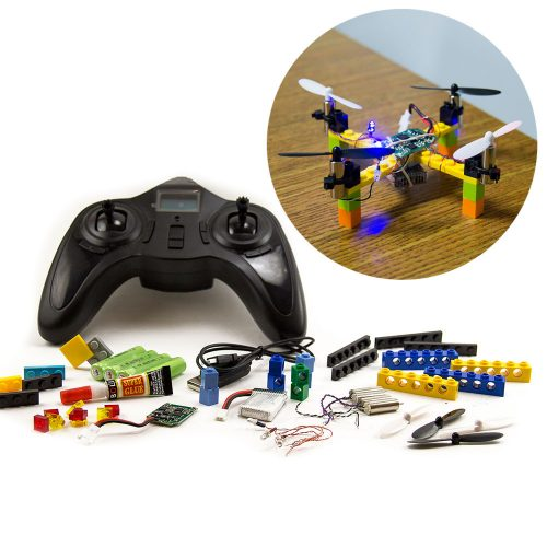 Lego-Drone-with-Hand