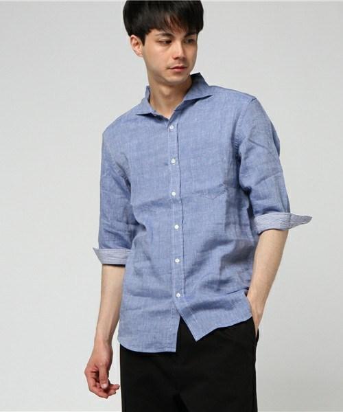 リネンシャツのイメージ