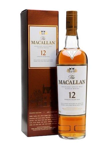 ザ・マッカラン(MACALLAN)12年 シングルモルト スコッチウイスキー