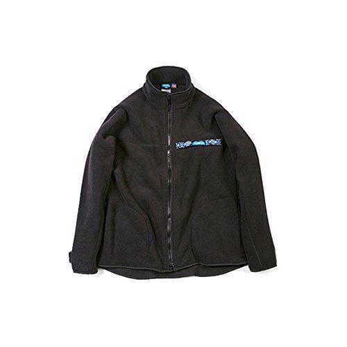 着脱が楽にできるフルジップタイプのフリースジャケット。中にシャツを合わせて重ね着したり、上からダウンジャケットを羽織ってインナーとしても活用できます。