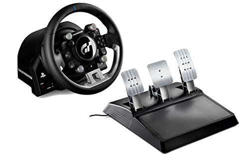 MSY T-GT Force Feedback Racing Wheel for PlayStation 4