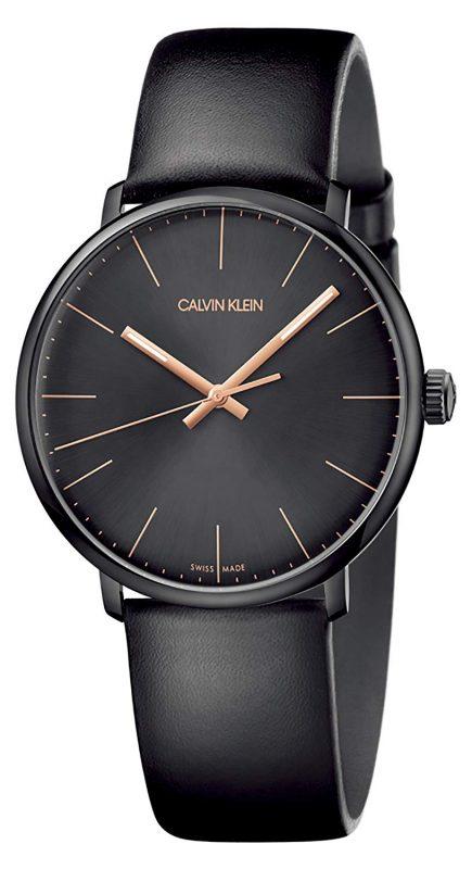 カルバンクライン(Calvin Klein) ハイヌーン ブラック×ブラック メンズウォッチ K8M214CB
