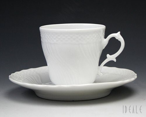 リチャード・ジノリ(Richard Ginori) ベッキオホワイト コーヒーカップ&ソーサー