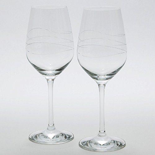 ティファニー(Tiffany & Co.) カデンツ ワイングラス 2点セット