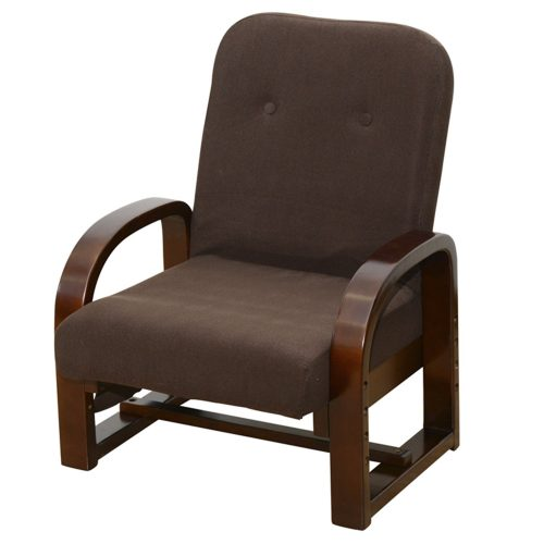 山善(YAMAZEN) 立ち上がり楽々 リクライニング式座椅子
