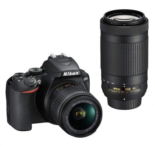 ニコン(Nikon) デジタル一眼レフカメラ D3500 ダブルズームキット D3500WZ