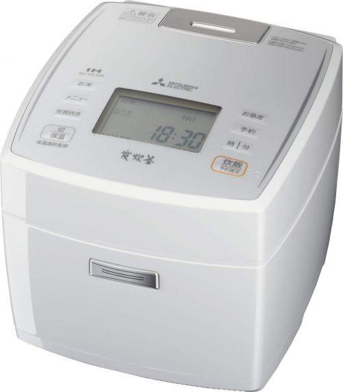 三菱電機 (MITSUBISHI) 備長炭炭炊釜 NJ-VE108-W