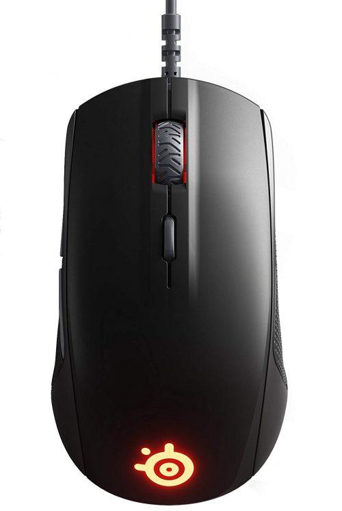 スチールシリーズ(SteelSeries) 有線光学式ゲーミングマウスRival 110 右利き用 62466