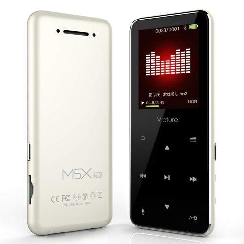 Victure Bluetoothアップデート MP3プレーヤー M5X