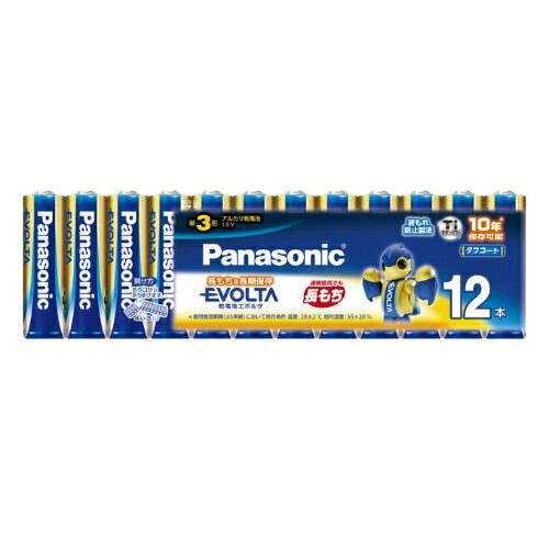 パナソニック(Panasonic) エボルタ 単3形アルカリ乾電池