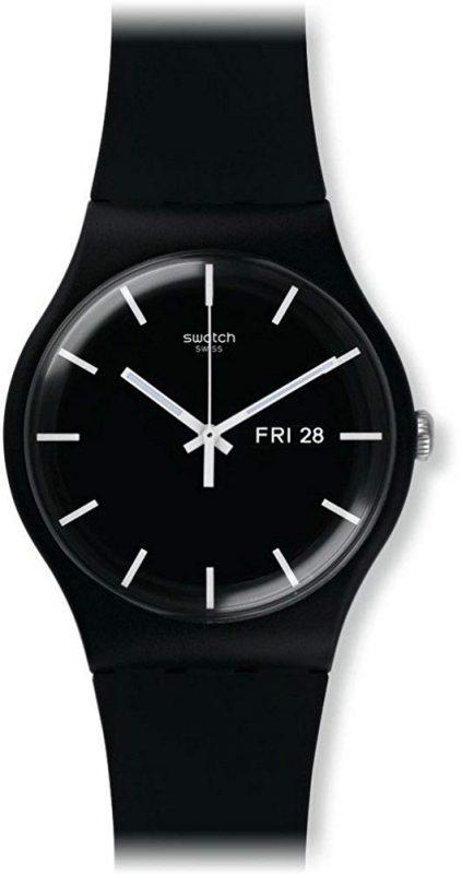 スウォッチ(SWATCH) 腕時計 ニュージェント MONO BLACK SUOB720