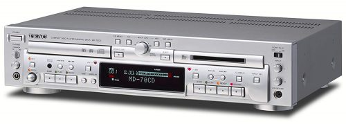 ティアック(TEAC)  CDプレーヤー/MDデッキ MD-70CD-S