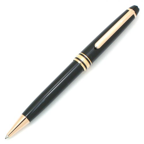 モンブラン(MONTBLANC) ボールペン マイスターシュテュック レッドゴールドコーティングクラシック