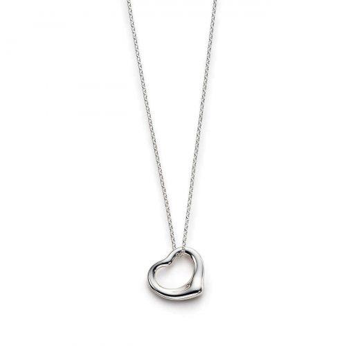 ティファニー(Tiffany & Co.) オープンハート ネックレス ミニ