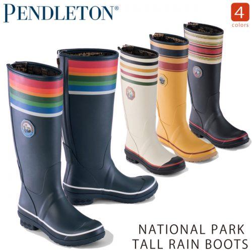 ペンドルトン(PENDLETON) レディースレインブーツ NATIONAL PARK TALL PE019