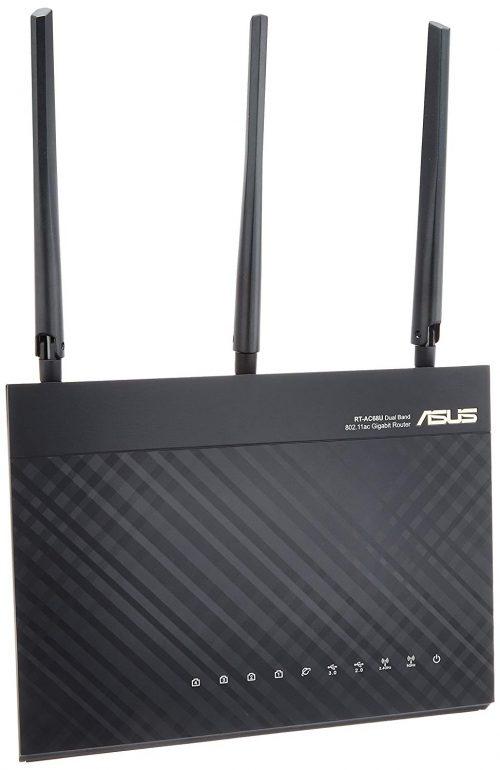 エイスース(ASUS) WiFi無線LANルーター RT-AC68U