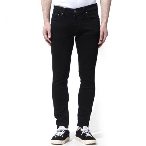 ヌーディージーンズ(Nudie Jeans) タイトテリー Everblack