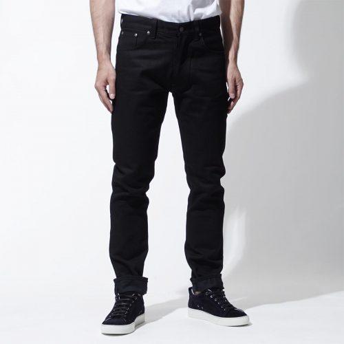 ヌーディージーンズ(Nudie Jeans) フィアレスフレディ Dry Black YD